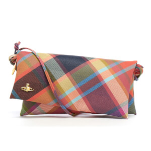 Vivienne Westwood Women's Derby Tartan Shoulder Bag - Harlequin