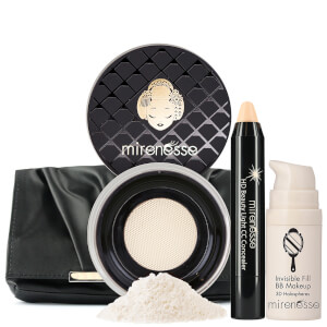 Mirenesse Invisible Pore Cover Up BB CC Kit