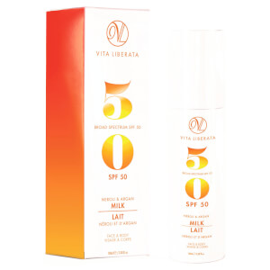 Vita Liberata Neroli and Argan Milk SPF50 100ml
