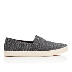 TOMS Men's Avalon Slip-On Pumps - Black/Grey Yarn-Dye