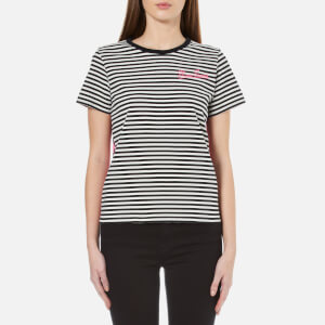 Marc Jacobs Women's Printed Patchwork T-Shirt - Black/Multi
