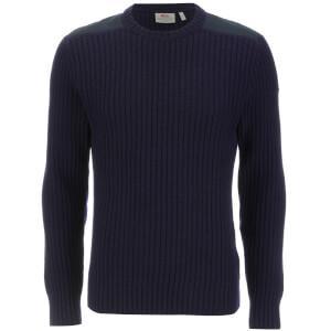 Fjallraven Men's Singi Knit Sweater - Dark Navy