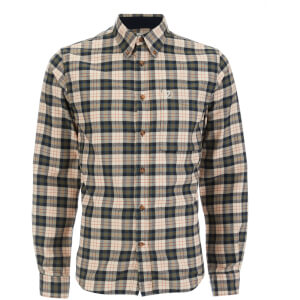 Fjallraven Men's Stig Flannel Shirt - Chalk White