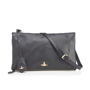 Vivienne Westwood Women's Balmoral Grain Leather Cross Body Bag - Black