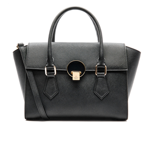 Vivienne Westwood Women's Opio Saffiano Leather Handbag - Black