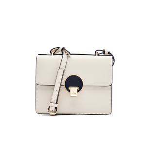 Vivienne Westwood Women's Opio Saffiano Leather Small Shoulder Bag - Beige