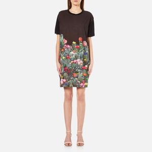 PS by Paul Smith Women's Cactus T-Shirt Dress - Black