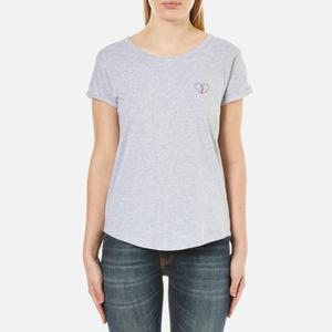 Maison Labiche Women's Coeur Brise T-Shirt - Gris Chine