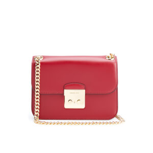 MICHAEL MICHAEL KORS Women's Sloane Editor Mid Chain Shoulder Bag - Cherry