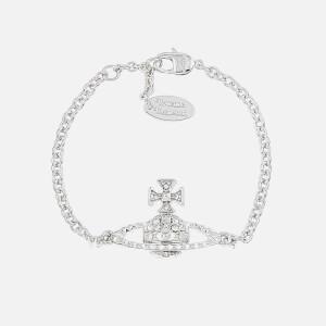 Vivienne Westwood Women's Mayfair Bas Relief Bracelet - Crystal/Rhodium