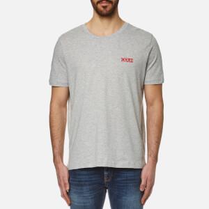 HUGO Men's Durned Small Logo T-Shirt - Open Grey