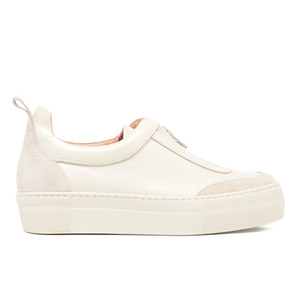Ganni Women's Poppy Shine Trainers - Biscotti
