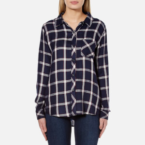 Rails Women's Hunter Shirt - Nightfall/White