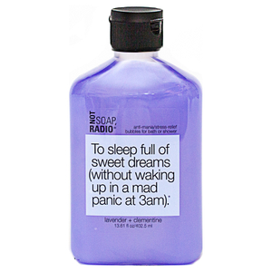 Not Soap Radio To sleep full of sweet dreams (without waking up in a mad panic at 3am) Bubbles for Bath/Shower 402.5ml