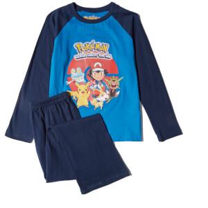 Pokemon Boys' Graphic Print Pyjamas - Blue