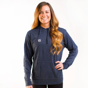 IdealFit Light Weight Hoodie Blue