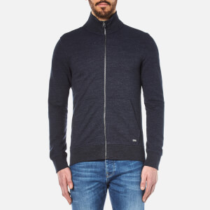 BOSS Orange Men's Zpandau Knitted Jacket - Dark Blue
