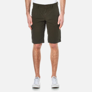 BOSS Orange Men's Schwinn Cargo Shorts - Dark Green