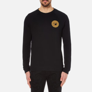 Versace Collection Men's Medusa Badge Sweatshirt - Black