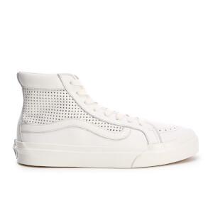 Vans Women's Sk8 Hi Slim Cutout Perforated Hi-Top Trainers - Blanc de Blanc