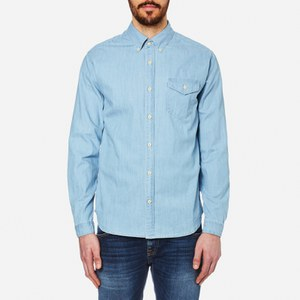 Barbour International Men's Speedrome Long Sleeve Shirt - Heavy Bleach