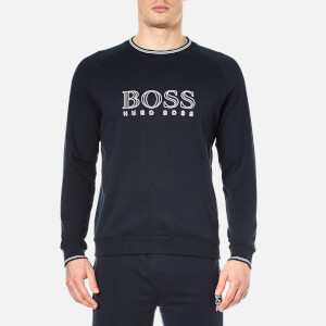 BOSS Hugo Boss Men's Logo Sweater - Navy