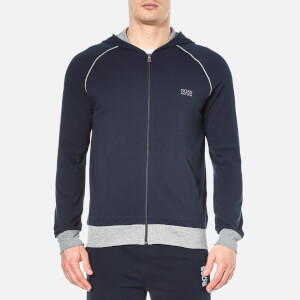 BOSS Hugo Boss Men's Zipped Hoody - Navy