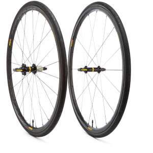 Mavic Cosmic Pro Carbon SL Tubular Wheelset 2017