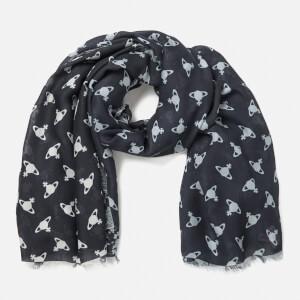 Vivienne Westwood Women's Mantero Wool Scarf - Navy