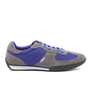Polo Ralph Lauren Men's Jacory Trainers - Charcoal/Sapphire Star