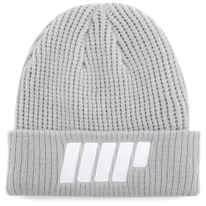 Knitted Beanie – Grey