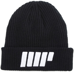 Knitted Beanie – Black