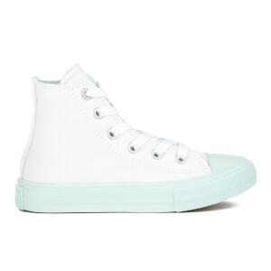 Converse Kids' Chuck Taylor All Star II Hi-Top Trainers - White/Fiberglass