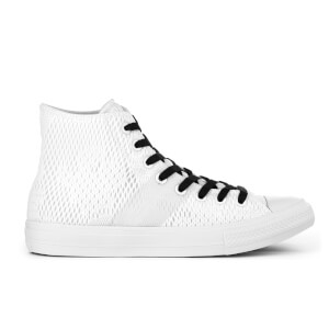 Converse Men's Chuck Taylor All Star II Hi-Top Trainers - White/Gum
