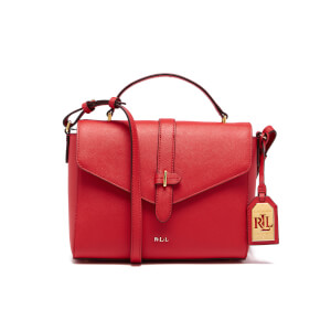 Lauren Ralph Lauren Women's Raquel Messenger Bag - Fiery Red