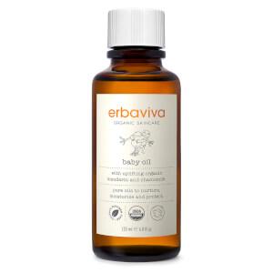 Erbaviva Organic Baby Oil 4 fl oz
