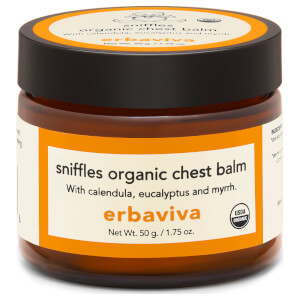 Erbaviva Sniffles Organic Baby Chest Balm