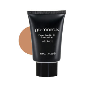 glominerals gloProtective Liquid Foundation Satin II - Beige-Light
