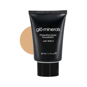 glominerals gloProtective Liquid Foundation Satin II - Golden-Light