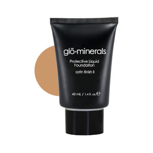 glominerals gloProtective Liquid Foundation Satin II - Natural