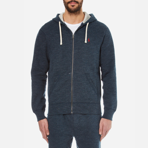 Polo Ralph Lauren Men's Full Zip Hoody - Blue Eclipse