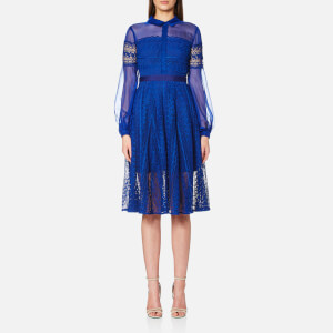 Three Floor Women's All About Blue Dress - Blue