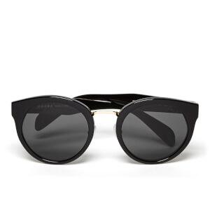 Prada Women's Heritage Round Frame - Black