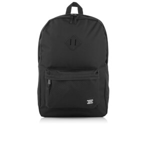 Herschel Supply Co. Heritage Backpack - Black/Black Rubber