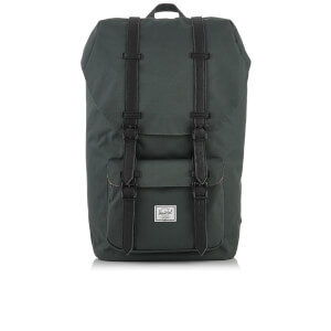 Herschel Supply Co. Little America Backpack - Dark Shadow/Black Synthetic Leather