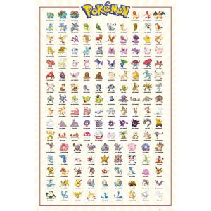 Pokemon Kanto 151 Maxi Poster 61 x 91.5cm