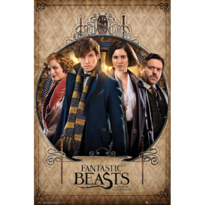 Fantastic Beasts Group Frame Maxi Poster - 61 x 91.5cm