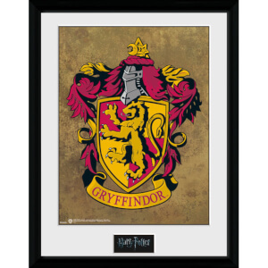 "Harry Potter Gryffindor Framed Photographic - 16"""" x 12"""