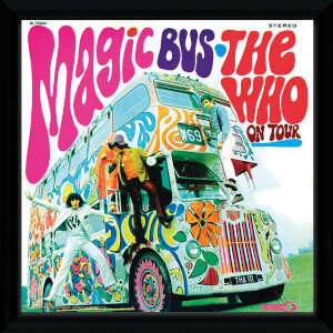 The Who Magic Bus Framed Album Cover - 12