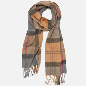 Barbour Tartan Cashmere Scarf - Dress